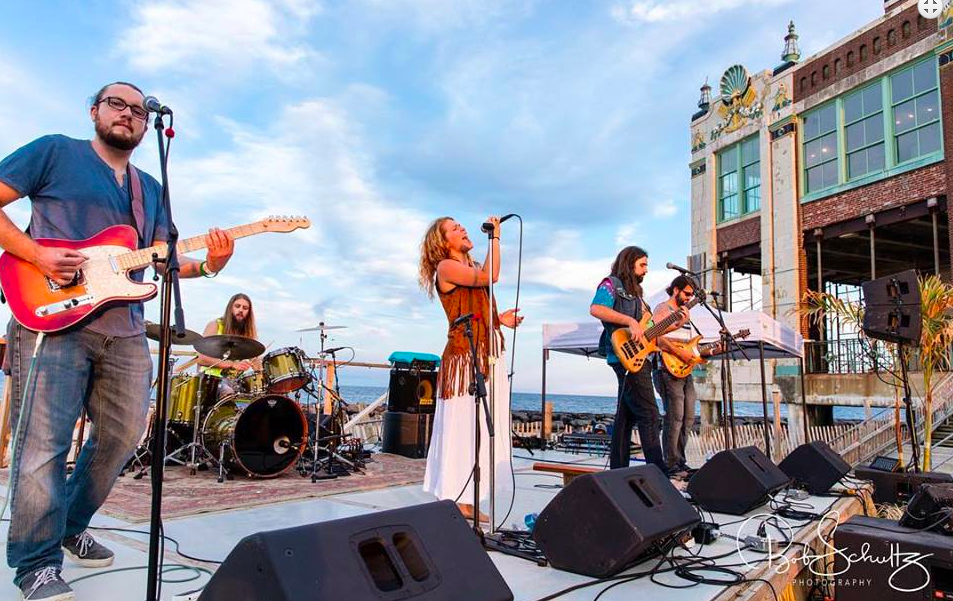 Haley Jane and the Primates at Asbury Park courtesy Bob Shultz